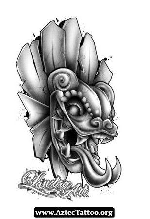 Aztec Zodiac Tattoos Designs 02 - http://aztectattoo.org/aztec-zodiac-tattoos-designs-02/