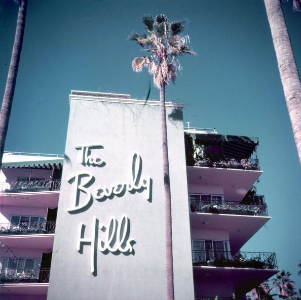 Slim Aarons - Beverly Hills (Limited Edition Estate Stamped) | From a unique collection of landscape photography at http://www.1stdibs.com/art/photography/landscape-photography/