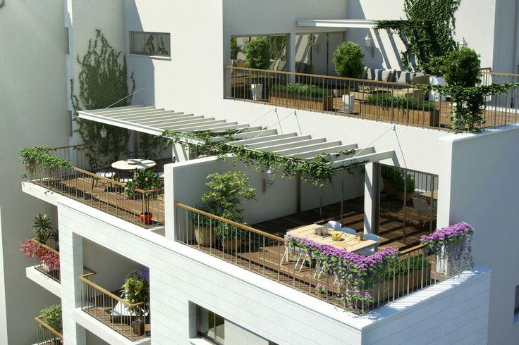 3d architectural rendering- A.B.Rimonim Acre