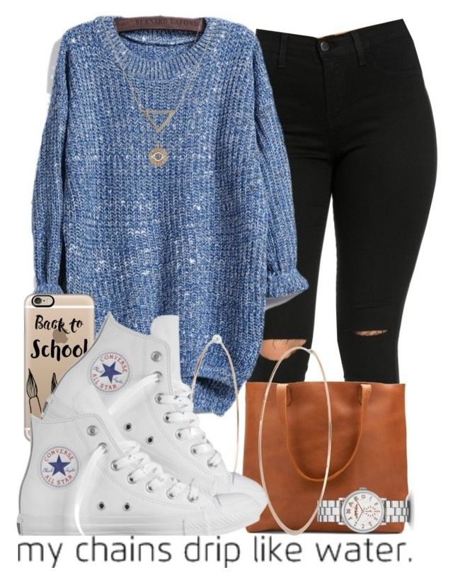 """""""Teen"""" by jjaysuave ❤ liked on Polyvore featuring Marc by Marc Jacobs, Casetify, Michael Kors, Converse, Banana Republic and Ileana Makri"""