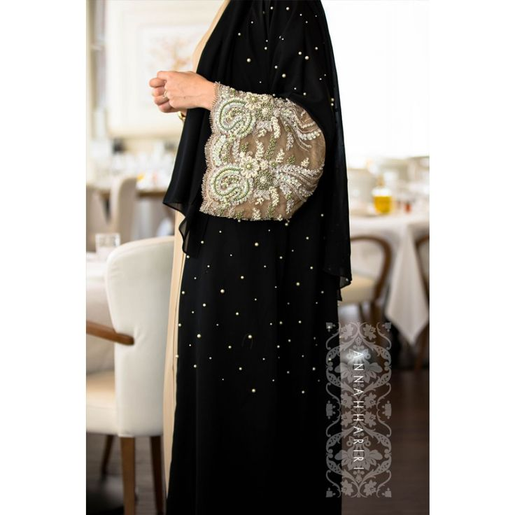 Lulu Lace Abaya ... this abaya is stunning, for a special occasion it's perfect ... $299.00 ... all the bead work is hand done ... simply stunning ... I think it's well worth the price ... kd