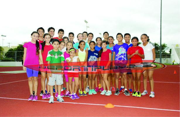 En Atletismo se preparan para las Olimpiadas 2015