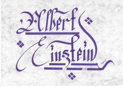 #albert #einstein #e   👍  | ➡  | 📝    🔹 https://facebook.com /rayankalligraphie 🔸 http://rayankalligraphie.de      #kalligrafi #kalligraphie #kalligrafie #calligraphy #callygraphie #art #sanat #kunst #budageceryahu #rayankalligraphie #moderncalligraphy #brushcalligraphy #calligraphyph #calligraphyart #arabicCalligraphy #calligraphymasters