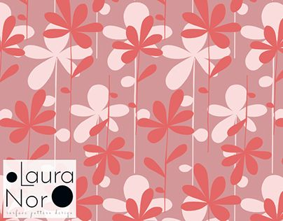 """Check out new work on my @Behance portfolio: """"Flowers surface pattern design"""" http://be.net/gallery/53036513/Flowers-surface-pattern-design"""