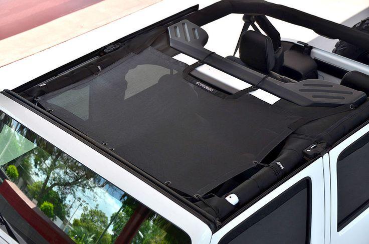 2007-2017 Jeep Wrangler & Unlimited SpiderWebShade TrailMesh JKini Bikini Top | eBay Motors, Parts & Accessories, Car & Truck Parts | eBay!