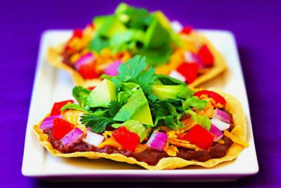 Chicken Tostada Recipes--Cinco de Mayo!