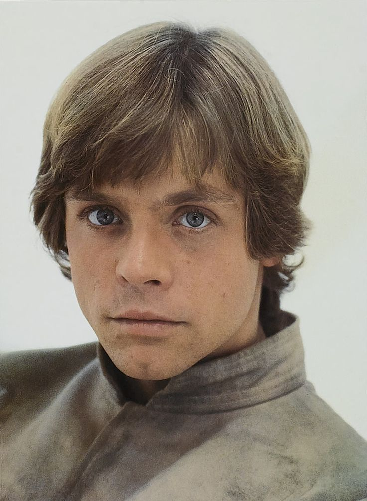 Luke Skywalker (Btw Luke rocked this hair cut long before zac effron and justin bieber ;) #nerdyforstarwars