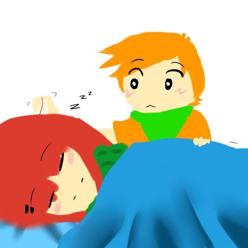 sleeping watermelon n orange