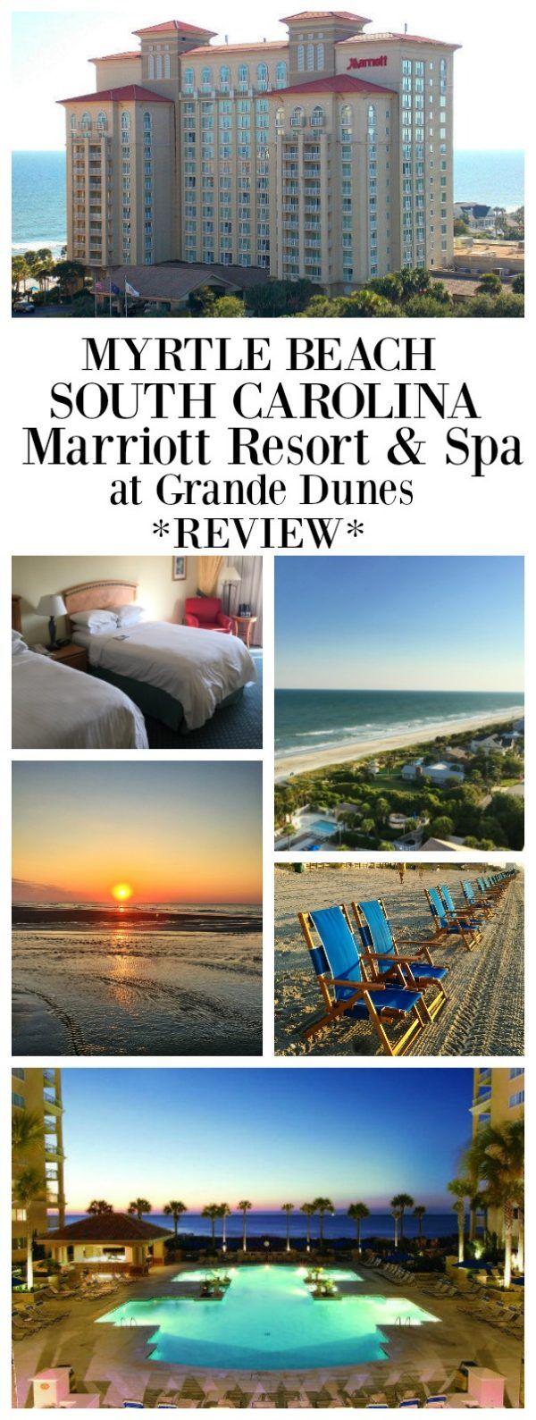 Myrtle Beach Marriott Resort and Spa- a review by RecipeGirl.com