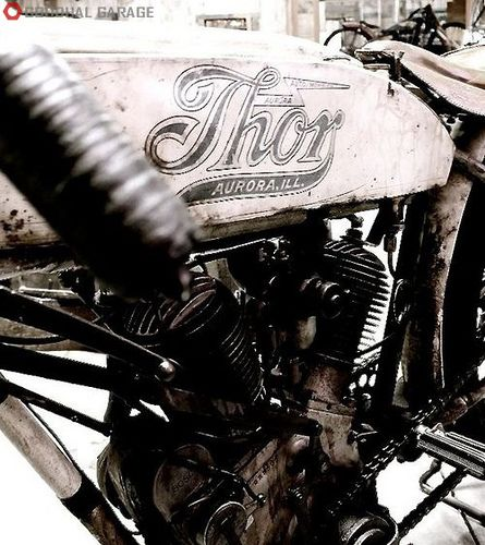 Thor - Thor made parts for many of the early American motorcycle manufacturers, and even a few complete machines as shown here.