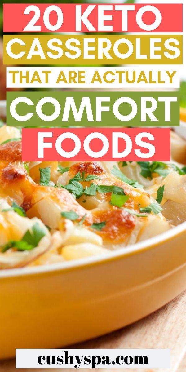 20 Keto-Aufläufe, die eigentlich Comfort Foods sind