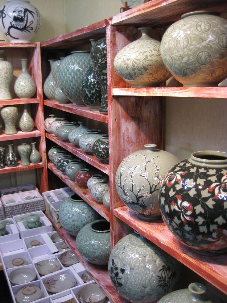 Celadon pottery, Korea