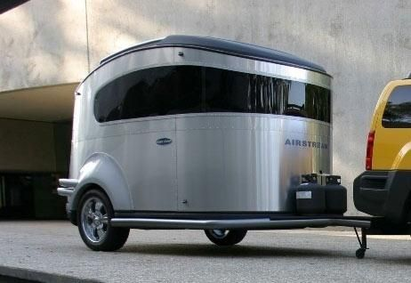the airstream basecamp is a micro light tent trailer hybrid that blends the convenience of rv. Black Bedroom Furniture Sets. Home Design Ideas