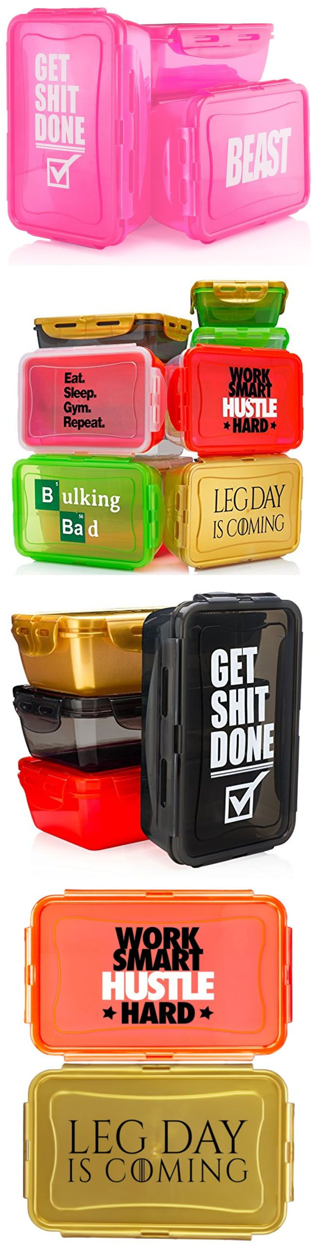 my fave meal prep containers!