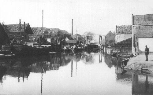 Dordrecht<br />Dordrecht Spuihaven richting Sluisbrug