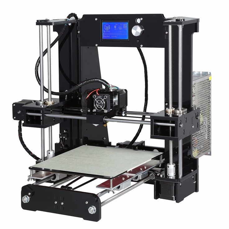 A6 3D Printer Kit Printing Size 220*220*250mm DIY 3D Printers Kits Updated based on A8 3d Printer Ship from Germany