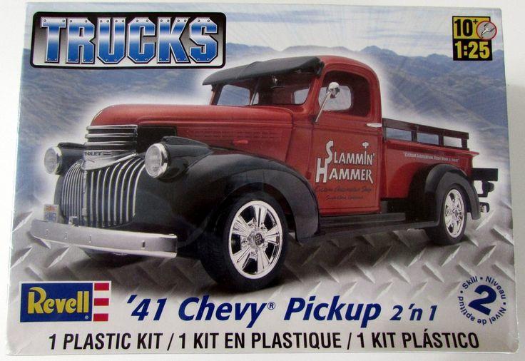 1941 Chevy Pickup Revell #85-7202 1/25 Scale New Truck Model Kit - Shore Line Hobby