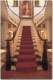 Belmont Mansion - Nashville, TN. ~ A grand antebellum staircase.