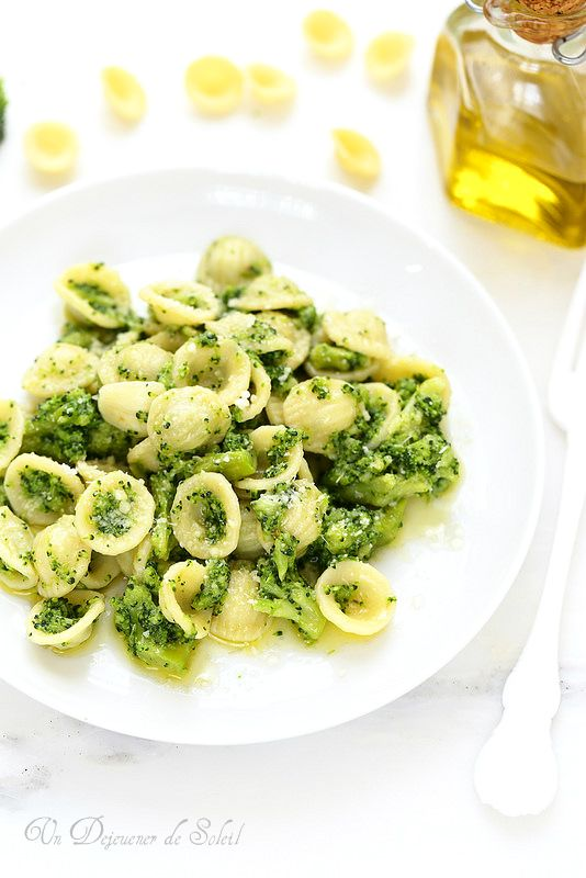 Pâtes aux brocolis comme en Italie