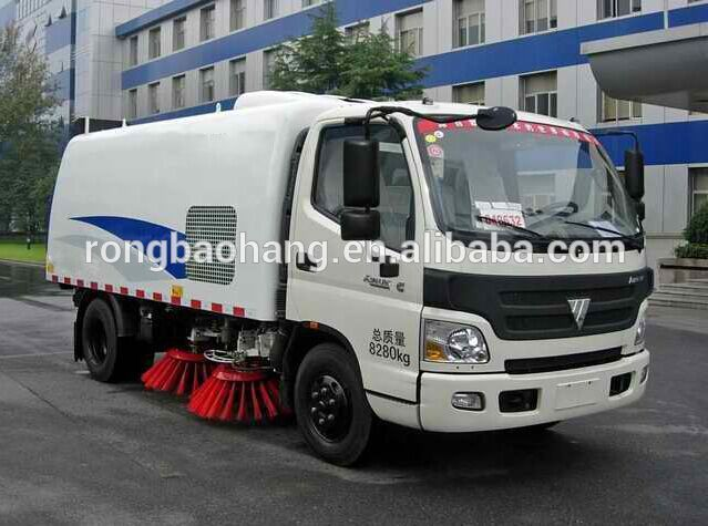 """Foton Aumark Special Vehicle, road sweeper, floor sweeper"""