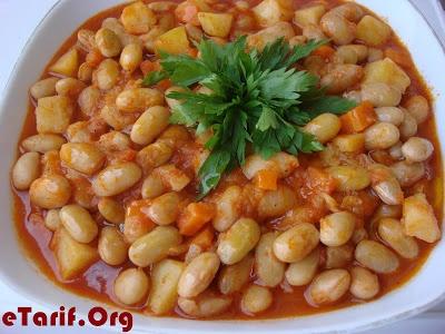 Zeytinyağlı Barbunya Tarifi - http://www.etarif.org/2013/06/Zeytinyagli-Barbunya-Tarifi.html