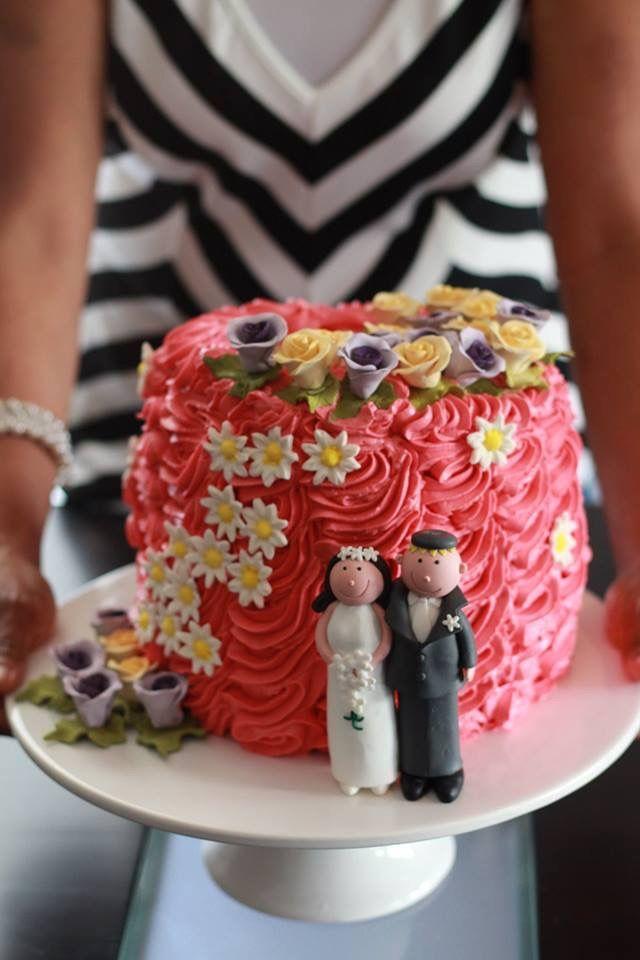 Easy simple wedding cake