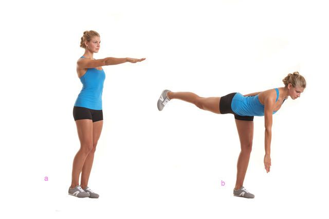 Po-Workout: Die Standwaage