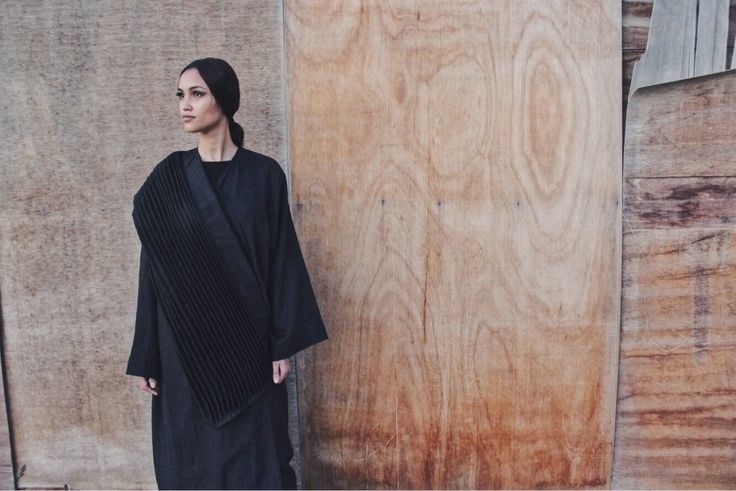 Who said a plain black abaya is boring? Look at this fashionable piece!