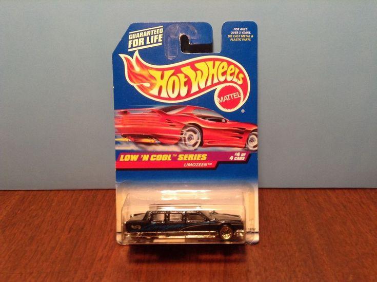 Hot Wheels Limozeen #716 Low 'n Cool 1998 Black Limousine 50 Cent Combined Ship #HotWheels