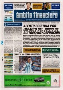 OpinionPublicaSantafesina(ops): diarios argentinos de hoy 16 de junio