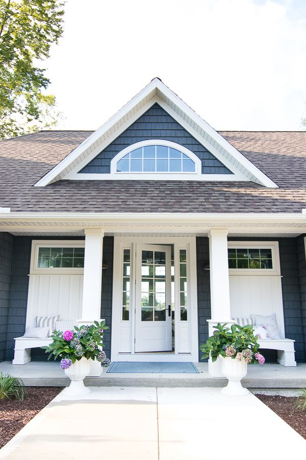 21779 best french country farmhouse images on - Exterior window trim vinyl siding ...
