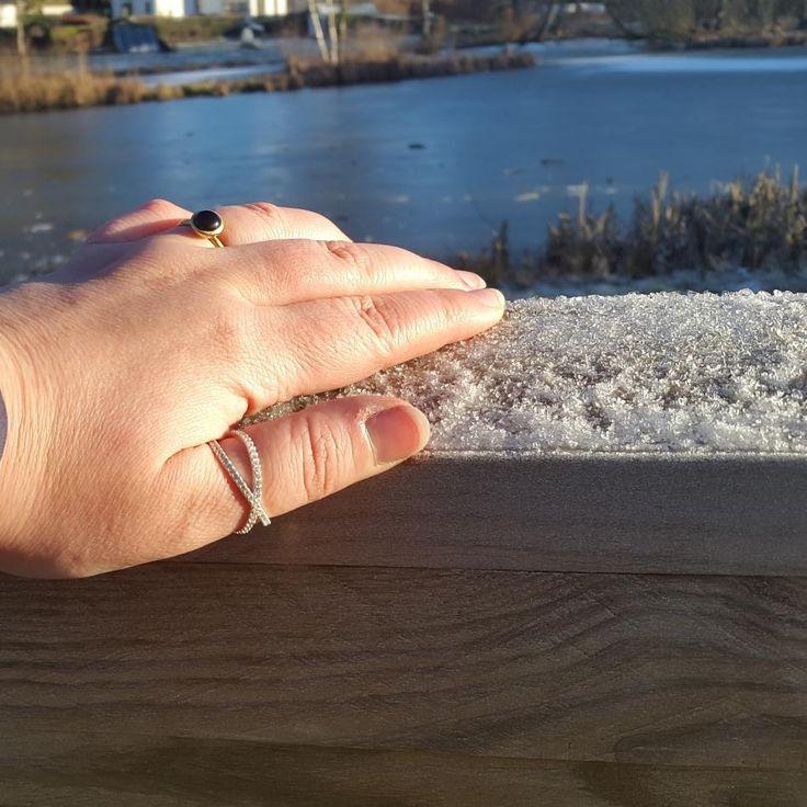 #hvisk #hviskstyling #hviskstylist #hviskjewellery #hviskjanuarstyle #smykker #smykke #jewellery #ringe #rings #sølvforgyldt #sølvforgyldtring #sølvringe #vinter #winter #naturen #natur #danmark #denmark