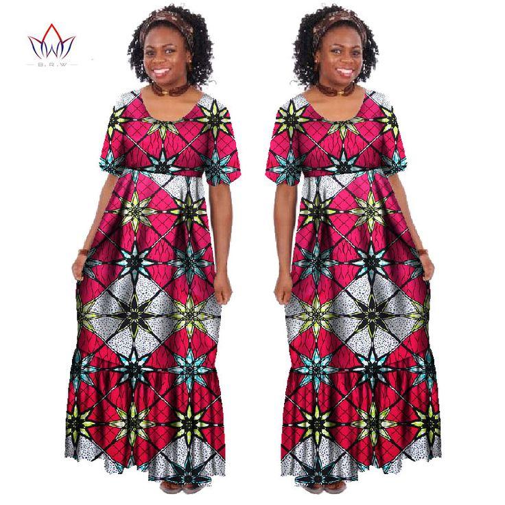 2017 New Summer Robe Africaine Femme African