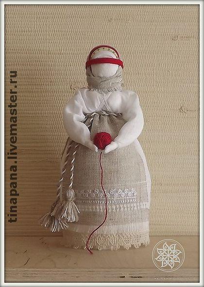 """Авторская кукла """"Воля"""" - кукла-оберег,воля,ручная работа,магичная кукла"""