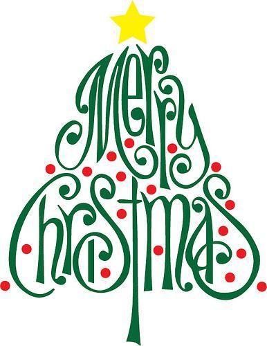 Merry Christmas Tree | The Craft Chop