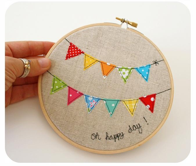 I think I want to start embroidering! Like I need another hobby...
