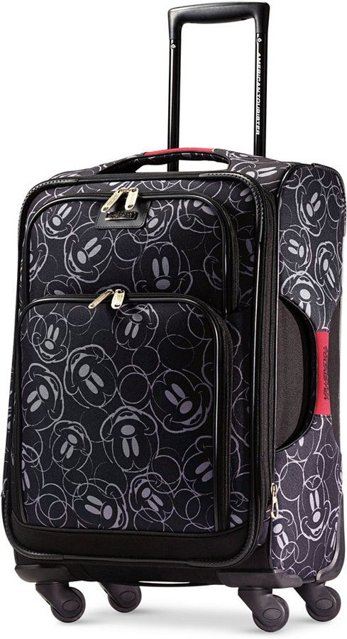 "American Tourister Mickey Mouse Multi-Face 21"" Spinner Suitcase by"