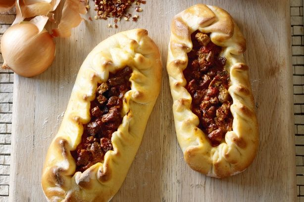 Beef and kashkaval pide main image