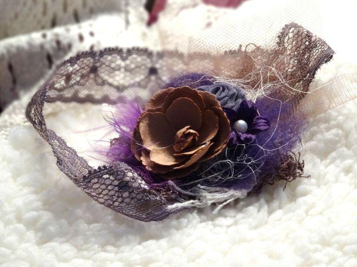 Haarbänder - Haarband Baby Fotografie newborn girl photo prop - ein Designerstück von MONICCI_Handmade_Props bei DaWanda