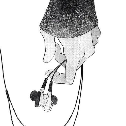 Manga Kopfhörer