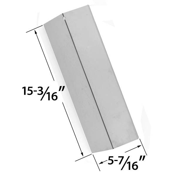 REPLACEMENT STAINLESS STEEL HEAT PLATE FOR SURE HEAT, JENN-AIR, COSTCO, SONOMA, TUSCANY GAS GRILL MODELS Fits Compatible Sure Heat Models : CGR27, CGR30NG, JA38, SGR27LP, SGR30M, SGR30MLP