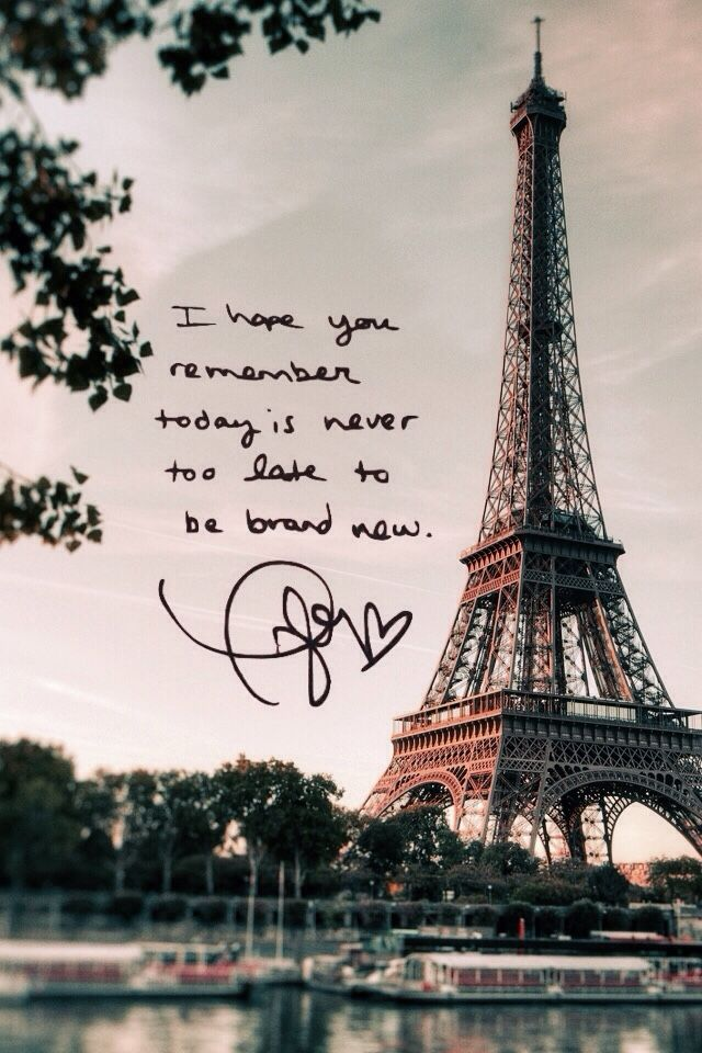 Taylor Swift lyrics. Paris. I,I,I like it.