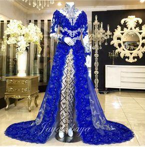 wedding dress kebaya modern blue 2016