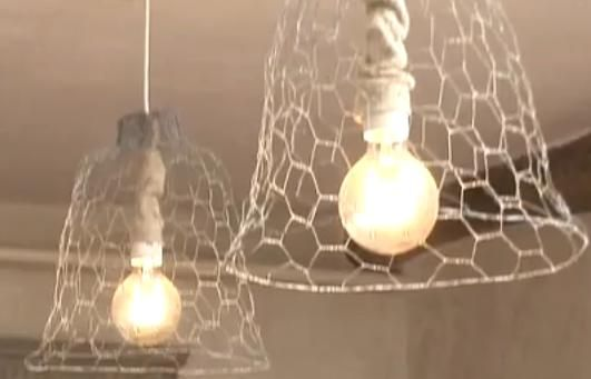Tuto Loisirs Créatifs : un abat jour design en fil de fer