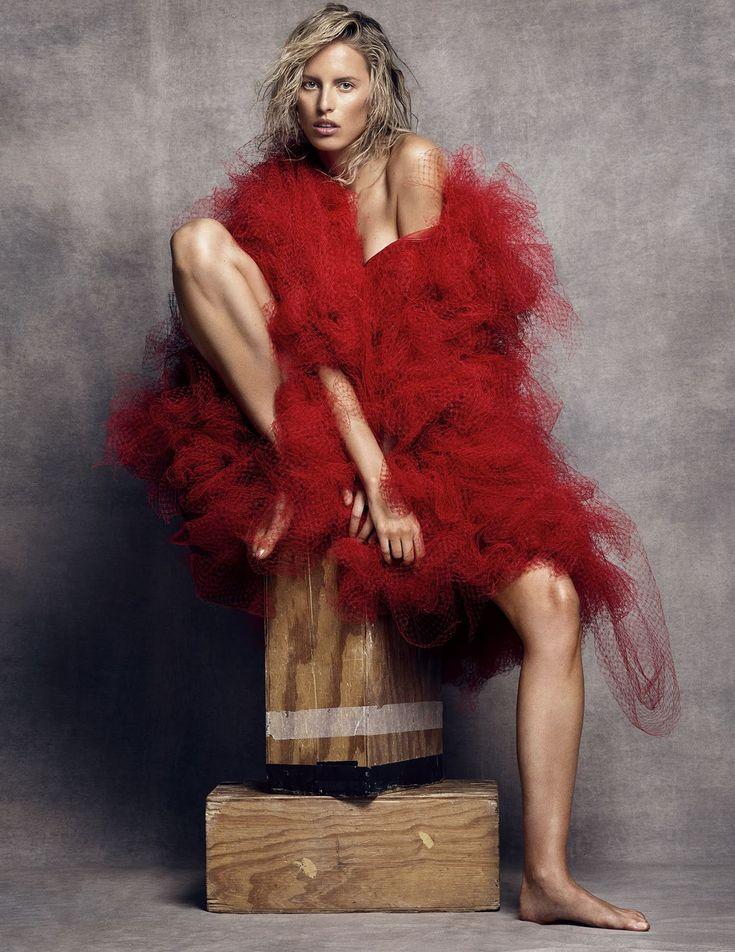 visual optimism; fashion editorials, shows, campaigns & more!: la gran belleza: karolina kurkova by nico for vogue spain october 2014