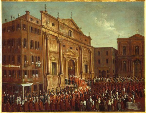 """""""L'ingresso di un procuratore di S. Marco"""", 1779?-1792 #gabrielbella #querinistampalia"""