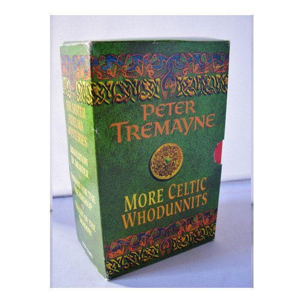 More Celtic Whodunnits Peter Tremayne 3 book box set PB mystery novels Irish Celtic tales history atmosphere Sister Fidelma Mysteries by TheIrishBarn on Etsy