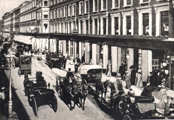 Westbourne Grove London 1880's -