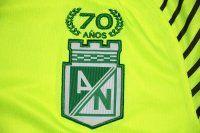 Atletico Nacional Medellin 17-18 Season 70th Anniversary Yellow Jersey [J734]