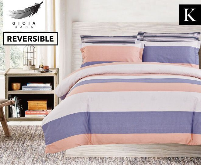 Gioia Casa Zali King Bed Quilt Cover Set - Multi, $44.99 plus postage from catchoftheday